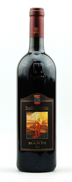Wein 2002 Brunello di Montalcino Castello Banfi