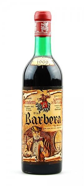 Wein 1969 Barbera Berteletti Castello di Lozzolo