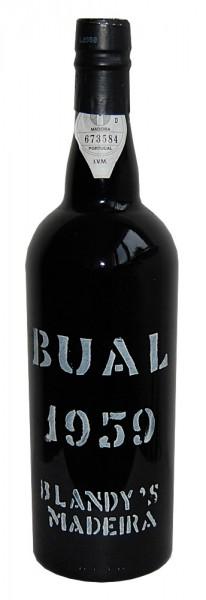Madeira 1959 Blandy's Bual