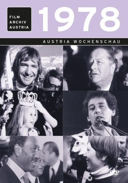 DVD 1978 Chronik Austria Wochenschau in Holzkiste