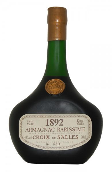 Armagnac 1892 Croix de Salles