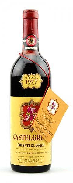Wein 1977 Chianti Classico Castelgreve