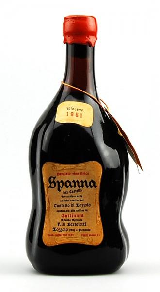 Wein 1961 Spanna Riserva Castello di Lozzolo Berteletti