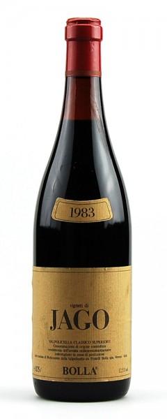 Wein 1983 Valpolicella Vigneti di Jago Bolla