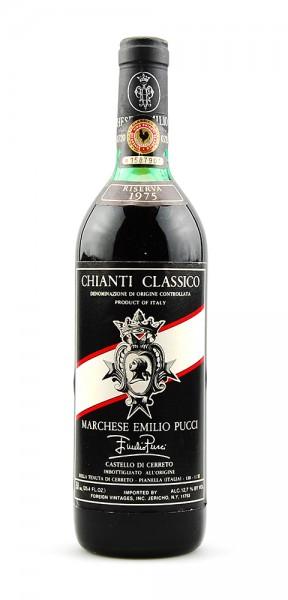 Wein 1975 Chianti Classico Castello di Cerreto Pucci