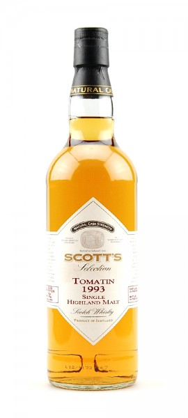 Whisky 1993 Tomatin Single Highland Malt