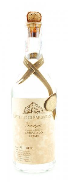 Grappa 1978 Barbaresco Rabaja Castello di Barbaresco