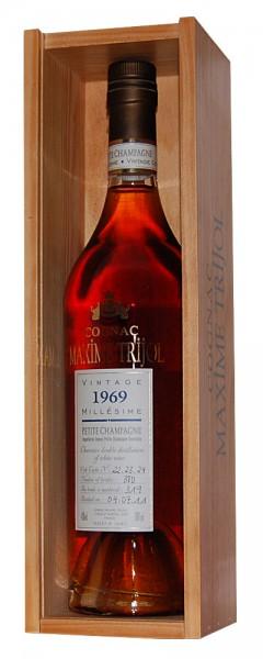Cognac 1969 Maxime Trijol Petite Champagne