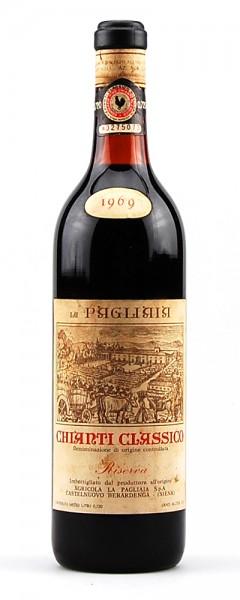 Wein 1969 Chianti Classico Riserva La Pagliaia