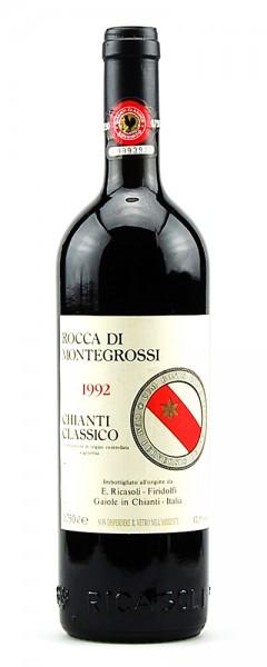 Wein 1992 Chianti Classico Rocca di Montegrossi
