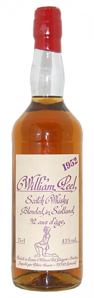 Whisky 1952 William Peel Blended Scotch 32 Years