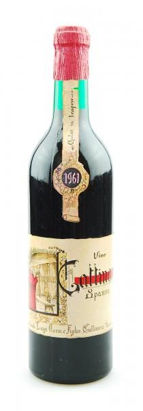 Wein 1961 Gattinara Spanna Vinicola Luigi Nervi