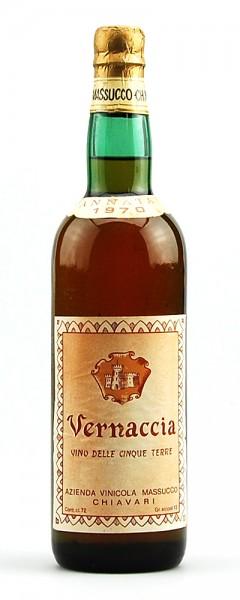Wein 1970 Vernaccia Massucco Chiavari