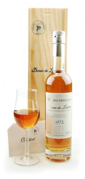 Armagnac 1972 Bas-Armagnac Baron de Lustrac