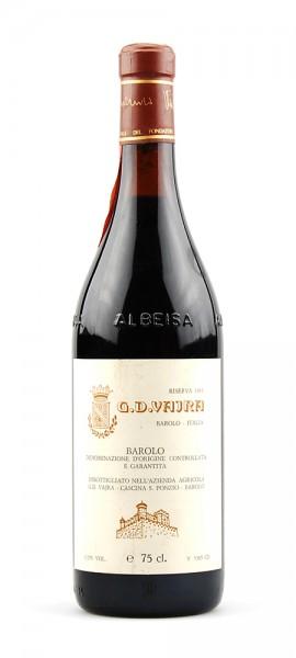 Wein 1983 Barolo G.D.Vajra Riserva