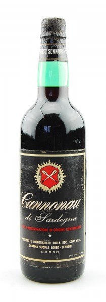 Wein 1973 Cannonau di Sardegna Cantina Sorso