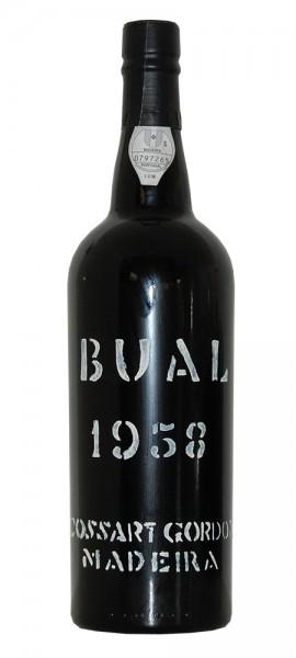 Madeira 1958 Cossart Gordon Bual
