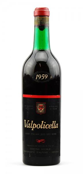 Wein 1959 Valpolicella Monteforte d´Alpone