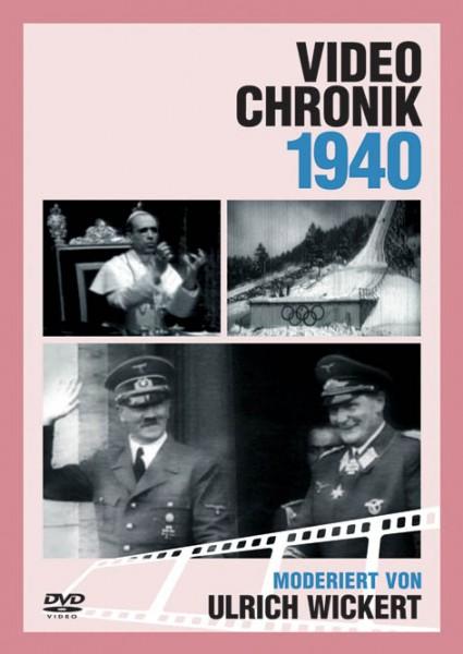 DVD 1940 Chronik Deutsche Wochenschau in Holzkiste