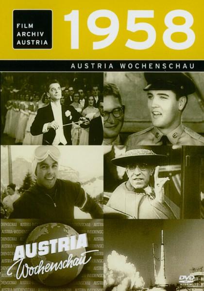 DVD 1958 Chronik Austria Wochenschau in Holzkiste