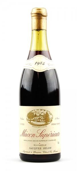 Wein 1984 Macon Superieur Cuvee Jules Verne