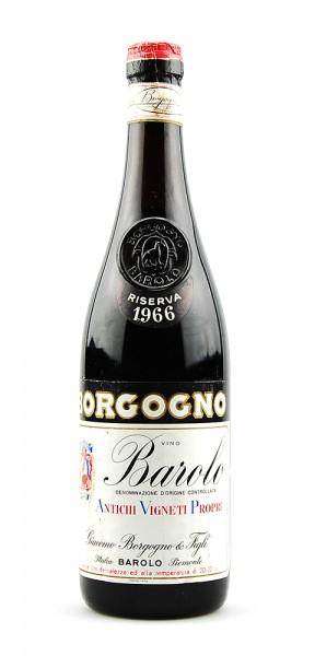 Wein 1966 Barolo Giacomo Borgogno Riserva