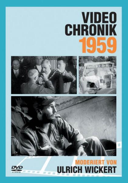 DVD 1959 Chronik Deutsche Wochenschau in Holzkiste