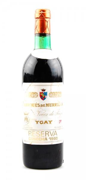 Wein 1960 Rioja Ygay Gran Reserva Marques de Murrieta