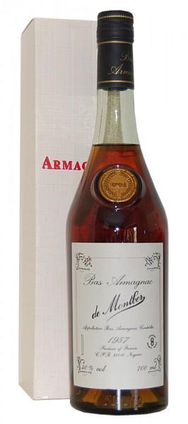 Armagnac 1957 Bas Armagnac de Montber