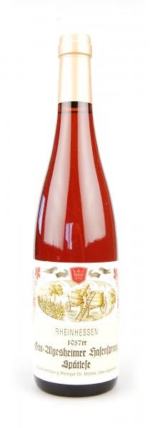 Wein 1957 Gau-Algesheimer Hasensprung Spätlese