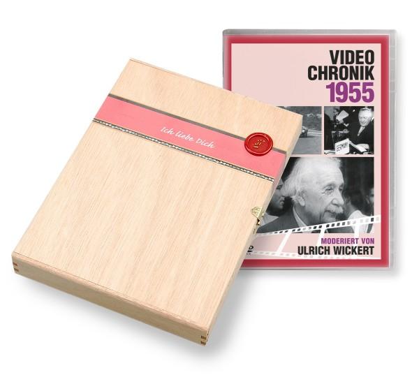 DVD 1955 Chronik Deutsche Wochenschau in Holzkiste