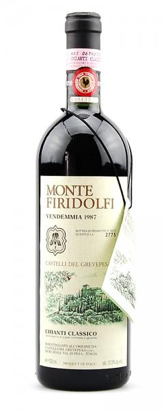 Wein 1987 Chianti Classico Monte Firidolfi Grevepesa