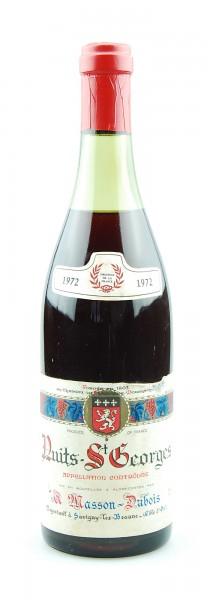 Wein 1972 Nuits St.Georges Masson-Dubois