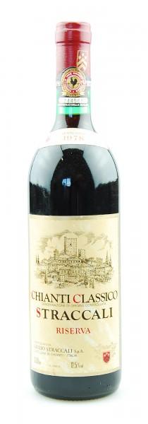 Wein 1978 Chianti Classico Riserva Straccali