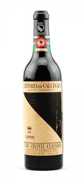 Wein 1966 Chianti Classico Conti Capponi Calcinaia