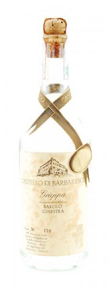 Grappa 1978 Barolo Ginestra Castello di Barbaresco