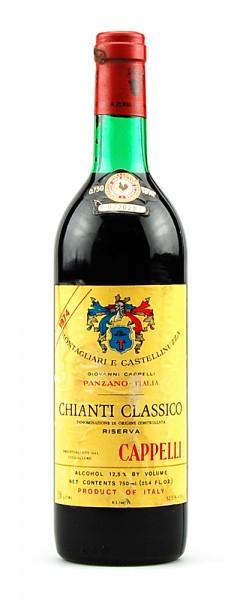 Wein 1974 Chianti Classico Riserva Montagliari Cappelli