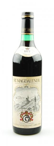 Wein 1977 St. Magdalener Rotwein