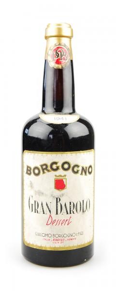 Wein 1941 Gran Barolo Giacomo Borgogno Dessert