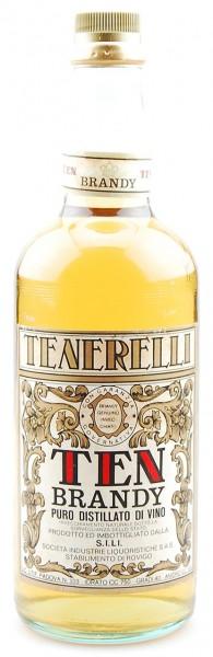 Brandy Ten Tenerelli Puro Distillato di Vino