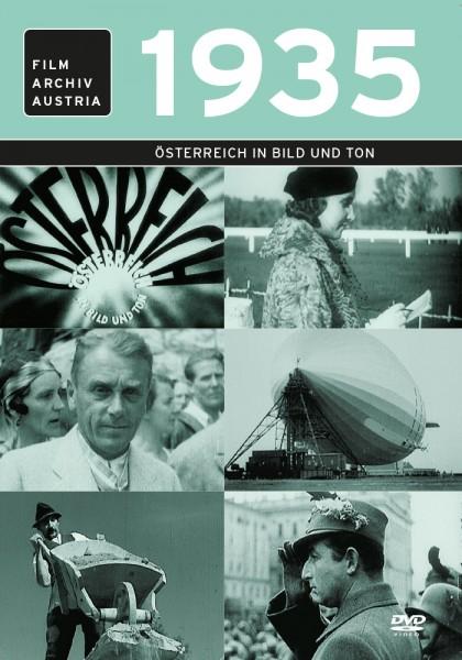 DVD 1935 Chronik Austria Wochenschau in Holzkiste