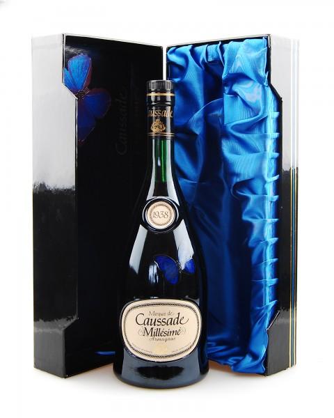Armagnac 1938 Armagnac Marquis de Caussade in Box