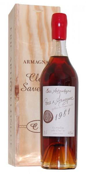 Armagnac 1981 Bas-Armagnac Clos des Saveurs