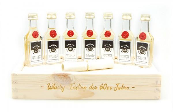 Tasting-Set Whisky der 60er Jahre