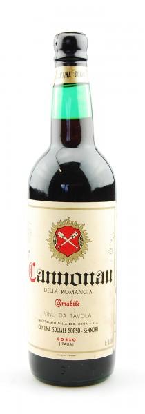 Wein 1979 Cannonau della Romangia Cantina Sorso