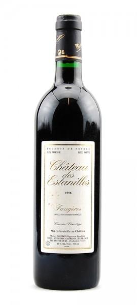 Wein 1996 Chateau des Estanilles Cuvee Prestige