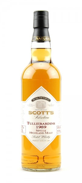 Whisky 1989 Tulliebardine Single Highland Malt