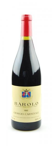 Wein 1993 Barolo Giorgio Carnevale