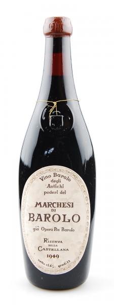 Wein 1949 Barolo Riserva Marchesi di Barolo Gia Opera