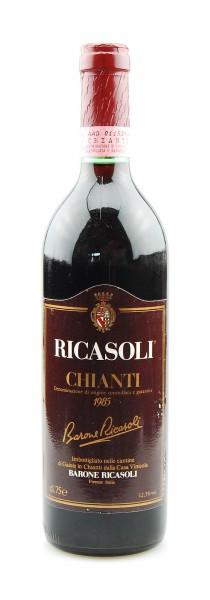 Wein 1985 Chianti Barone Ricasoli